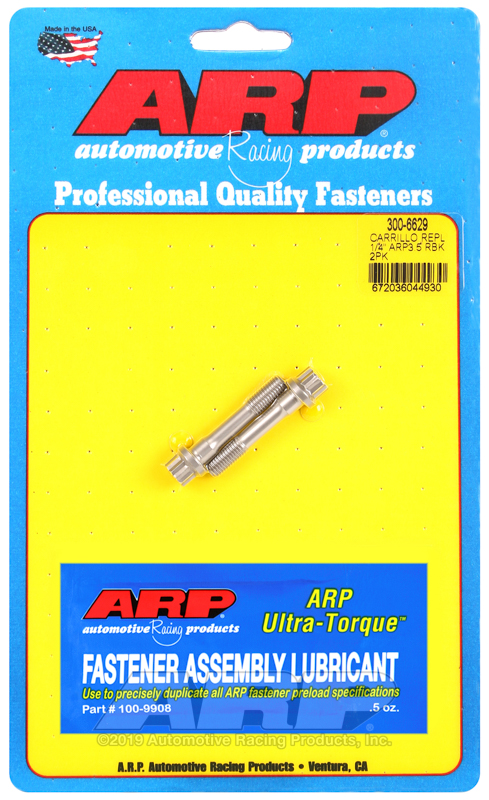"1/4"" ARP3.5 Carrillo replacement rod bolts"
